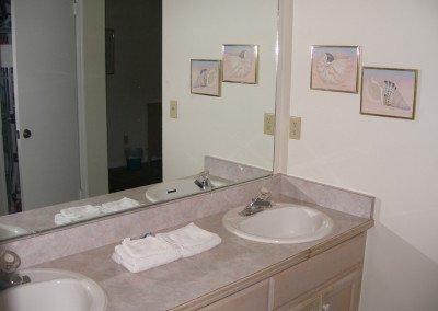 Ensuite washroom with shower