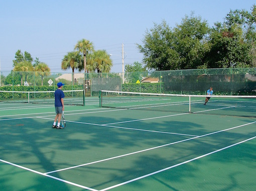 Tennis courts Indian Wells Kissimmee